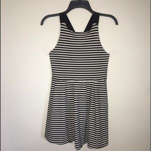 SO striped dress with racerback straps